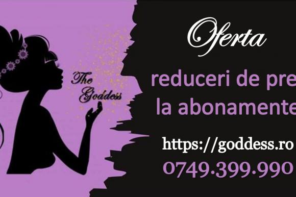 Salonul The Goddess Călărași vă așteaptă cu reduceri de prețuri în perioada 15.10 – 01.11.2020!